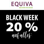 Black Week bei Equiva: Sicher dir nur für kurze Zeit 20% auf alles rund ums Pferd