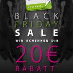 Jetzt den Black Friday Gutschein von Equiva sichern und 20€ Rabatt erhalten.