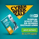 ESET Cyber Week Sale: Sparen jetzt bis zu 47% beim Kauf einer Lizenz von ESET Smart Security Premium*
