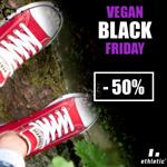 Ganze 50% Rabatt auf alle Produkte aus der Black Friday Aktion von ethletic