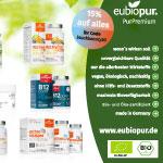 Spare jetzt 15% auf Nahrungsergänzungsmittel bei eubiopur