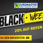 Sicher dir jetzt die Black Fridady Angebote bei Euromaster!