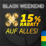 Jetzt Gutschein sichern und mit dem Black Weekend Deal von Euromaster 15% auf alles sparen!