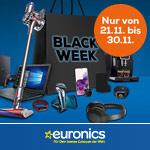 Black Week bei Euronics – Sicher dir jetzt eines der zahlreichen Angebots-Highlights