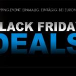 Black Friday Sale 2013 bei Euronics: Ein Tag lang Markentechnik zum Schnäppchenpreis