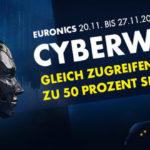 Cyberweek bei Euronics – Spare jetzt bis zu 50% auf ausgewählte Produkte!