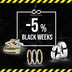 Black Weeks bei ewigetrauringe.de – 5% Rabatt auf alles!