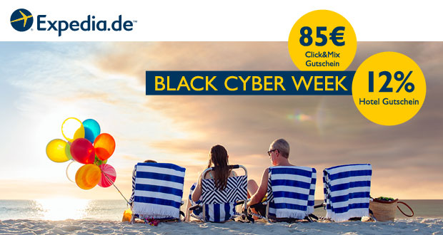 Expedia Black Cyber Week 2017