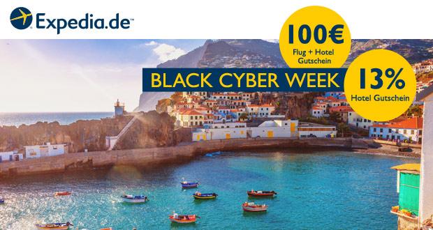 Expedia Black Cyber Week 2018