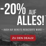 Black Weeken Sale bei exxpozed – 20% Rabatt auf alles, auch auf bereits reduzierte Ware