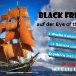 Spare exklusiv am Black Friday 36% beim Kanaren-Törn auf der Eye of the wind!