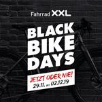 Black Bike Days bei Fahrrad XXL Sicher dir jetzt bis zu 50% Rabatt auf dein neues Zweirad