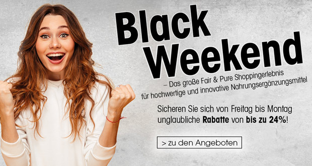 Fair & Pure Black Friday 2018