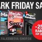 25% Rabatt auf alle Magazine und Bookazines im Falkemedia Shop
