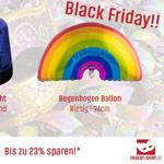 Jetzt schon an die nächste Party denken mit den Fasent-Shop Angeboten zum Black Friday