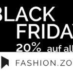 20% Preisnachlass auf das komplette Sortiment im Online-Store von Fashion.Zone