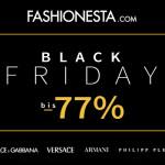 Fashionesta bietet am Black Friday bis zu 77% Rabatt auf ausgewählte Designer-Stücke!