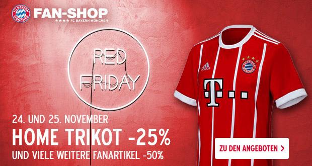 FC Bayern Fanshop Red Friday 2017