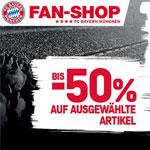 Super Bayern Deals mit bis zu 50% Rabatt im offiziellen FC Bayern Fan-Shop!