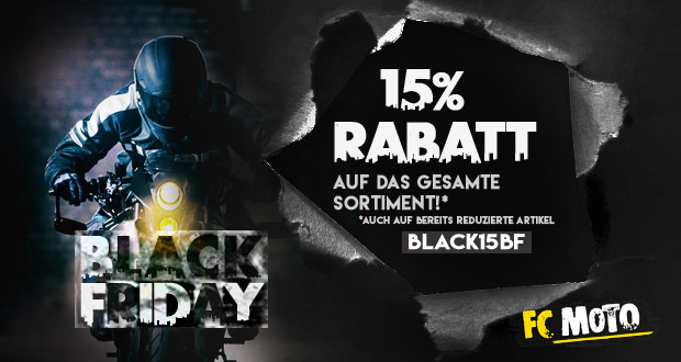 FC Moto Black Friday 2017