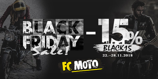 FC Moto Black Friday 2018