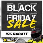 Black Friday bei FC Moto – 15% Rabatt auf alles