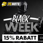 15% Rabatt auf Alles mit den Black Week Deals bei FC-Moto