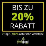 Jetzt bis zu 20% Rabatt auf Top-Produkte im Feelgood-Shop sichern!