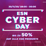 ESN Cyber Day bei Fitmart – Bis zu 50% Rabatt auf alle ESN Produkte