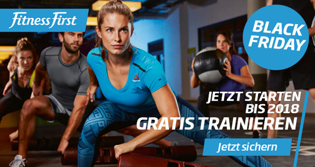 Fitness First Black Friday 2017