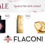 Bis zu -50% Rabatt auf SALE-Produkte im Online-Shop von Flaconi!
