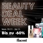 Beauty Deal Week bei Flaconi – Bis zu 60% Rabatt sparen