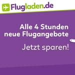 Nur heute auf Flugladen.de – 15,- € Rabatt auf Flüge aus Deutschland zu ausgewählten Reisezielen