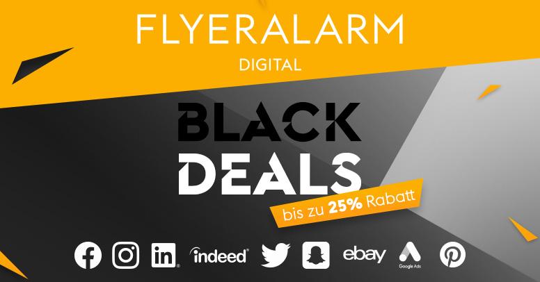 Flyeralarm Digital Black Friday 2019