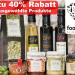 Die Delikatessenjagd bei foodheart ist eröffnet. Bis zu 40% Rabatt auf ausgewählte Produkte!