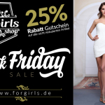 Shopping Weekend bei ForGirls: 25% Rabatt  + kostenfreier Versand!
