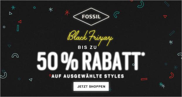 Fossil Black Friday 2018