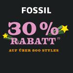 Die Black Friyay Angebote von Fossil sind da – 30% Rabatt auf über 800 Styles