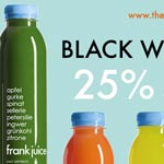 Frank Juice Black Weekend Sale – 25% auf alles!
