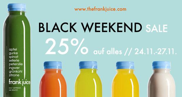 Frank Juice Black Friday 2017