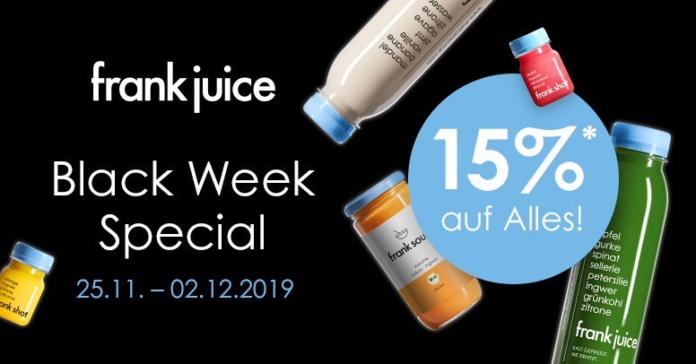 frank juice Black Friday 2019