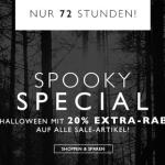 Spooky Special im Frontlineshop: 20% Rabatt auf alle Sale-Artikel