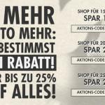 Bis zu 25% auf Streetwear im Frontlineshop