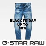 Black-Friday-Sale auf g-star.com – Spare jetzt bis zu 50% auf Jeans & mehr