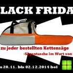 Erhalte jetzt eine GRATIS Sägentasche im Wert von 24,90 EURO beim Kauf einer Kettensäge bei Gardexx!