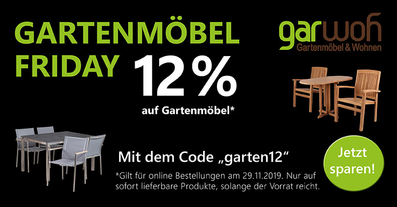 Garwoh Black Friday 2019