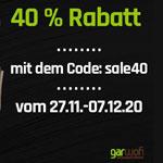 Spare jetzt 40% auf alle Polyrattanmöbel bei GarWoh.de