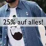Sicher dir nur heute: 25% Rabatt auf alle Artikel im Onlineshop von GentleStyle!