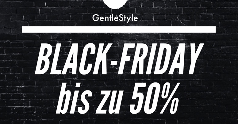 GentleStyle Black Friday 2019