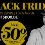 Black Friday Wochenende bei GentsBox – Spare jetzt bis zu 50% auf ausgewählte Produkte!
